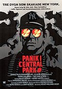 Panik i Central Park Poster 70x100cm NM original