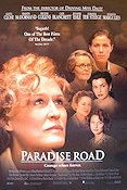 Paradise Road 1997 poster Glenn Close