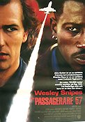 Passagerare 57 1992 poster Wesley Snipes