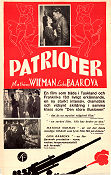 Patrioter 1937 poster Mathias Wieman Karl Ritter