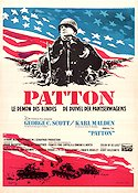 Patton Poster 35x50cm Belgium FN original