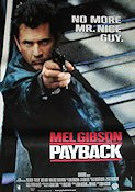 Payback 1999 poster Mel Gibson Brian Helgeland