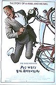 Pee Wee's Big Adventure Poster 68x102cm USA FN original
