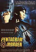 Pentagrammorden 1990 poster Lou Diamond Phillips