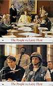 The People vs Larry Flynt 1998 lobbykort Woody Harrelson Milos Forman