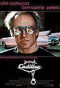Pink Cadillac 1989 poster Clint Eastwood