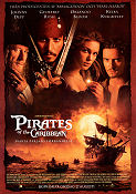 Pirates of the Caribbean 2003 poster Johnny Depp