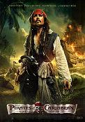 Pirates of the Caribbean On Stranger Tides 2011 poster Johnny Depp Rob Marshall