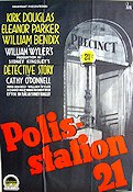 Polisstation 21 1952 poster Kirk Douglas William Wyler