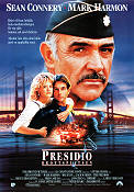 The Presidio 1988 poster Sean Connery