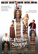 Press-stopp 1994 poster Michael Keaton