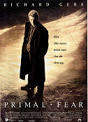 Primal Fear 1995 poster Richard Gere Gregory Hoblit