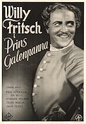 Prins Galenpanna 1933 poster Willy Fritsch
