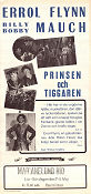 Prinsen och tiggaren 1937 poster Errol Flynn William Keighley