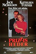 Prizzis heder 1985 poster Jack Nicholson