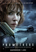 Prometheus 2012 poster Noomi Rapace Ridley Scott