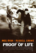 Proof of Life 2000 poster Meg Ryan