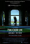 Punch-Drunk Love 2002 poster Adam Sandler Paul Thomas Anderson