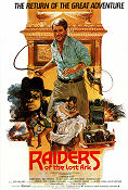 Raiders of the Lost Ark 1981 poster Harrison Ford Steven Spielberg