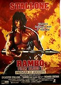 Rambo First Blood 2 Poster 70x100cm B RO original