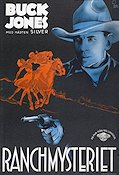 Ranchmysteriet 1932 poster Buck Jones