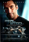 Real Steel 2011 poster Hugh Jackman Shawn Levy
