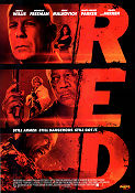 RED 2010 poster Bruce Willis Robert Schwentke