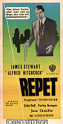Repet 1948 poster James Stewart Alfred Hitchcock