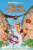 The Rescuers Down Under Poster 68x102cm USA RO original