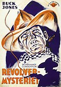 Revolvermysteriet 1935 poster Buck Jones