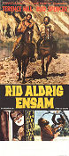 Rid aldrig ensam 1967 poster Terence Hill Giuseppe Colizzi