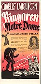 Ringaren i Notre Dame 1939 poster Charles Laughton William Dieterle