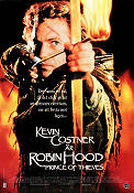 Robin Hood Prince of Thieves 1990 poster Kevin Costner