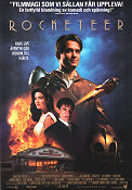 The Rocketeer 1991 poster Bill Campbell Joe Johnston