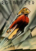 The Rocketeer (1991) Bill Campbell/Timothy Dalton/Jennifer Connelly Poster 70x100cm advance