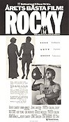 Rocky 1977 poster Sylvester Stallone