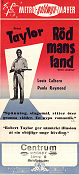 Röd mans land 1950 poster Robert Taylor Anthony Mann
