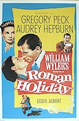 Roman Holiday Poster reproduction RO 60x90