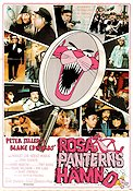 Rosa Panterns hämnd 1978 poster Peter Sellers Blake Edwards