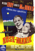 Rose-Marie 1936 poster Jeanette MacDonald
