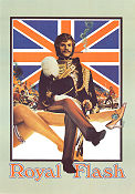 Royal Flash 1975 poster Malcolm McDowell Richard Lester