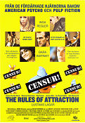 The Rules of Attraction 2002 poster James van der Beek