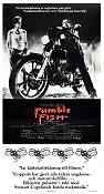 Rumble Fish 1992 poster Matt Dillon Francis Ford Coppola