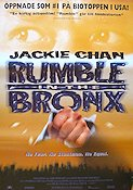 Rumble in the Bronx 1995 poster Jackie Chan