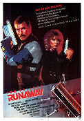 Runaway 1984 poster Tom Selleck Michael Crichton