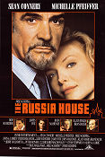 The Russia House Poster 68x102cm USA RO original