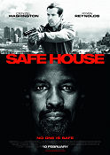 Safe House 2012 poster Denzel Washington Daniel Espinosa
