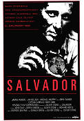 Salvador 1986 poster James Woods Oliver Stone/Jim Belushi