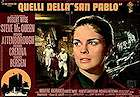 The Sand Pebbles Poster 66x47cm Italy FN original