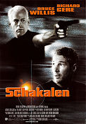Schakalen 1997 poster Bruce Willis Michael Caton-Jones